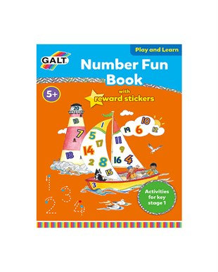 Galt Number Fun Book +5 Yaş